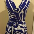 Blue Maxi Dress by Rubber Ducky Productions, Inc. Image 5