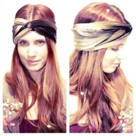 Preload https://item4.tradesy.com/images/black-and-gold-ombr-handmade-headband-hair-accessory-131988-0-0.jpg?width=440&height=440