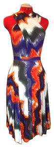 Tart short dress Multi - orange purple blue grey on Tradesy