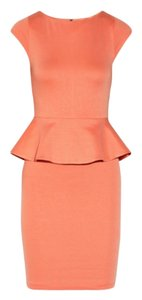 Alice + Olivia short dress Orange on Tradesy