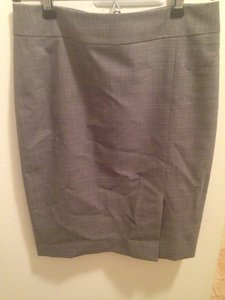 Ann Taylor Grey Suit Skirt
