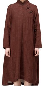 Coffee Maxi Dress by Other
