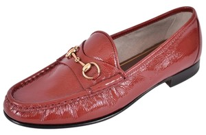Gucci Loafers Women's Loafers Red Flats