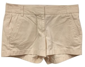 J.Crew Mini/Short Shorts Cream