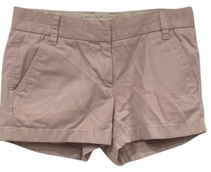 J.Crew Mini/Short Shorts Light pink, purple