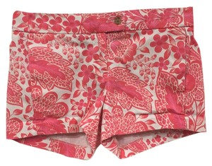 J.Crew Mini/Short Shorts Pink, White