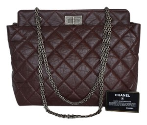 Chanel Mademoiselle Reissue Tote in Burgundy
