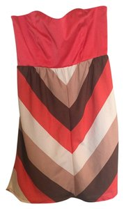 Judith March short dress Orange, Brown, Beige on Tradesy