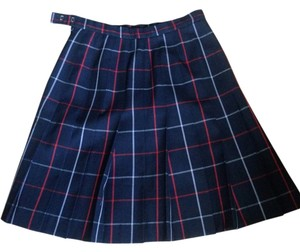Burberry Mini Skirt Blue