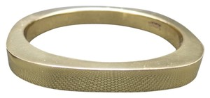 Charles Albert Charles Albert Bangle brACELEt Gold tone alloy