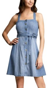 Gap short dress Chambray on Tradesy
