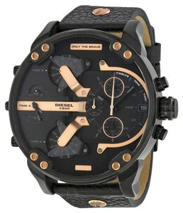 Diesel Diesel DZ7350 Men's Mr Daddy 2.0 Black Analog Watch