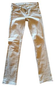 7 For All Mankind Sleek Straight Leg Jeans-Light Wash
