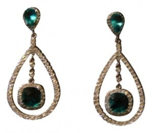 Park Lane FLASHY EVENING PIERCED EARRINGS
