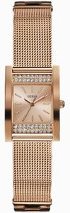 Guess Guess Women's Rose Gold Analog Watch W0127L3