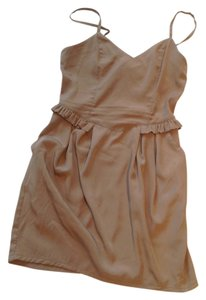 H&M short dress Tan on Tradesy