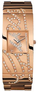 Guess Guess Signature Women's Rose Gold Analog Watch U15063L1