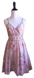Charlotte Russe short dress Pink (Floral) on Tradesy