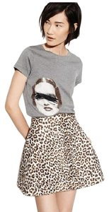 Carven Mini Skirt LEOPARD
