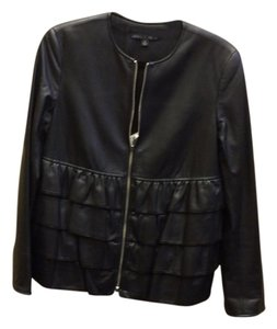 Lafayette 148 New York Leather Leather Jacket