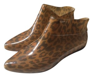 Melissa + Alexandre Herchcovitch Boot Ankle Bootie Leopard Boots