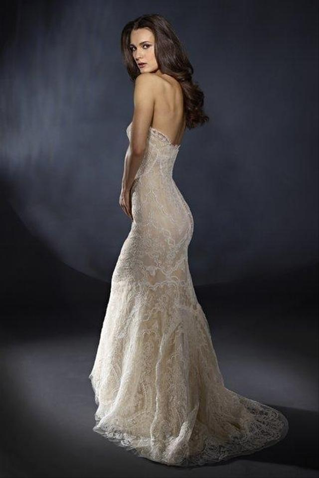 Marisa Bridal Ivory and Champagne French Lace 898 Feminine Wedding ...