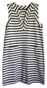 Kate Spade short dress White/Blue Stripe on Tradesy