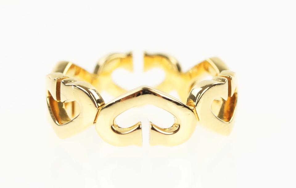 64a0d4b8bbdf3 Gold Hearts and Symbols Ring