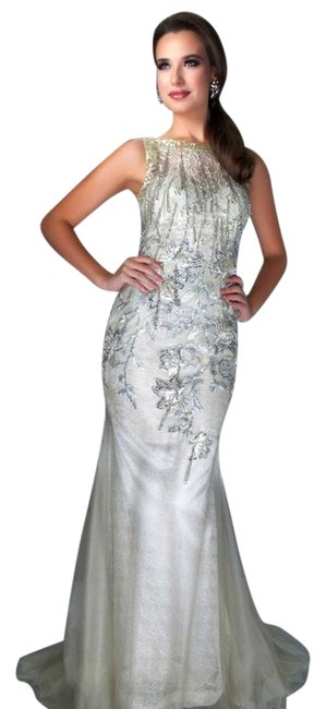 Mac Duggal Couture Pageant Pageant Size 6 Long Evening Halter Dress