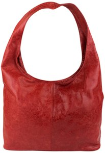 Hype Tooled Vintage Leather Hobo Bag