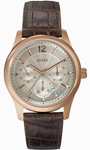 Guess Guess Men's Rose Gold Analog Watch W0475G2