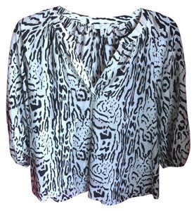 Joie Top Black and White