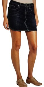 Silver Jeans Co. Mini Skirt blue