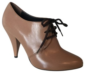 Vicini Light Brown Leather Boots
