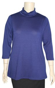 Allison Brittney Woman Top Dark Blue