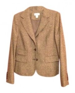Ann Taylor LOFT Ann Taylor Brown Tweed Jacket for Skirt Suit