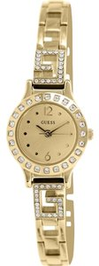 Guess Guess Women's Gold Tone Analog Watch U0411L2