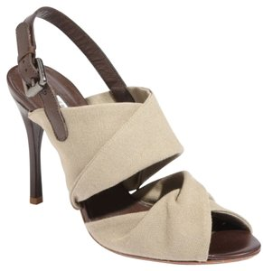 Vera Wang Lavender Label Olive/Brown Sandals