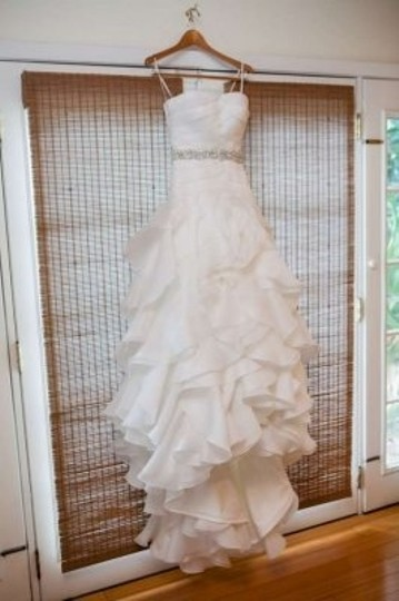White Chelsea Formal Wedding Dress Size 2 (XS)