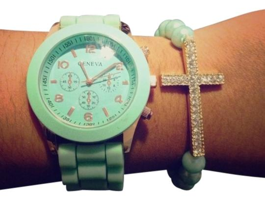 Preload https://img-static.tradesy.com/item/132059/geneva-mint-arm-candy-watch-0-0-540-540.jpg