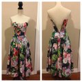 Multi Floral Mid-length Short Casual Dress Size 6 (S) Multi Floral Mid-length Short Casual Dress Size 6 (S) Image 11