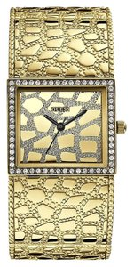 Guess Guess Croco Luxe Women's Gold Analog Watch W0223L2