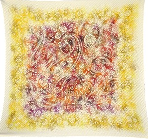 Hermès Hermes Indian Dust Colored Scarf