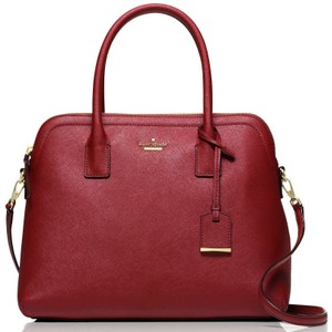 Kate Spade New York Satchel in Train Car Red
