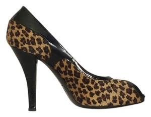 Via Spiga black, light and dark brown Pumps