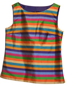 Talbots Top Multi Jewel Colored