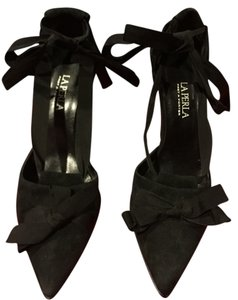La Perla Black Pumps