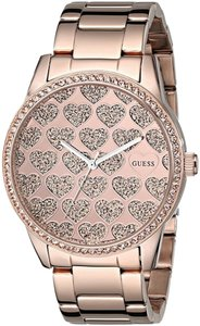 Guess Guess Women's Rose Gold Tone Analog Watch U0536L1