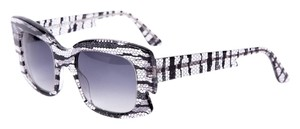THIERRY LASRY Discoty Lace Print Sunglasses
