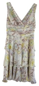 M Missoni short dress Cream lime green yellow on Tradesy